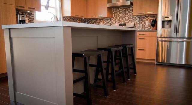 Contemporary Retro Kitchen traditional-kitchen