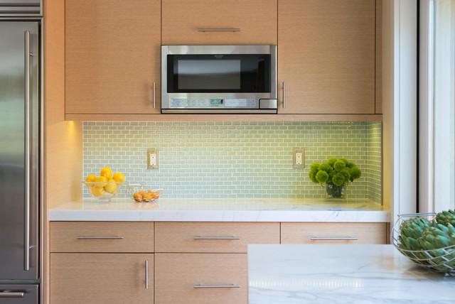 Contemporary Rift Cut White Oak Kitchen Cabinets Contemporary Kitchen