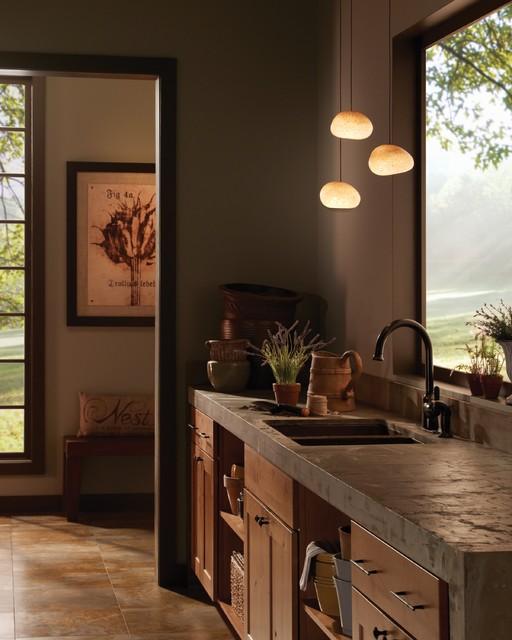 Contemporary Rustic Architecture rustic-kitchen