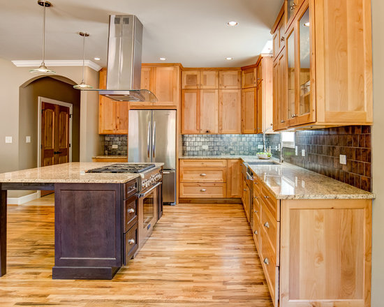 Affordable Knotty Alder Cabinet Home Design Ideas, Pictures, Remodel and Decor