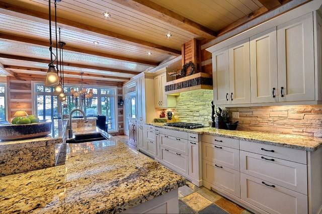 Kitchen - contemporary kitchen idea in Toronto & Contemporary Rustic - Contemporary - Kitchen - Toronto - by Mark and ...