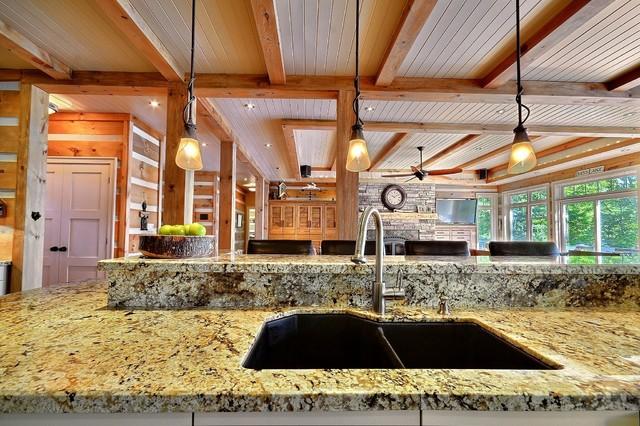 Contemporary Rustic contemporary-kitchen
