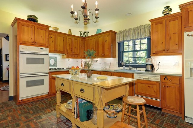 Contemporary Rustic Woodland Beauty Rustic Kitchen