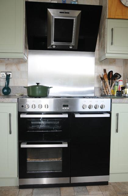 Contemporary sage green kitchen grimsby contemporary for Bathroom design grimsby