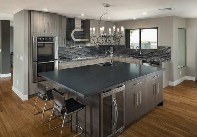 Contemporary Scottsdale Remodel Cactus Contemporary Kitchen Phoenix By Chris Jovanelly
