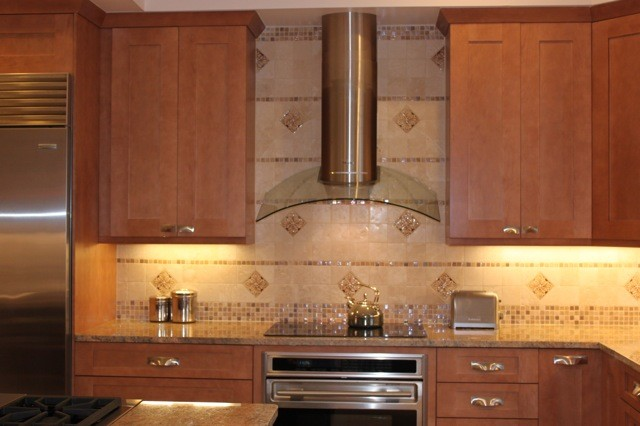tiles for kitchen backsplash contemporary shaker door kitchen maple traditional 6212