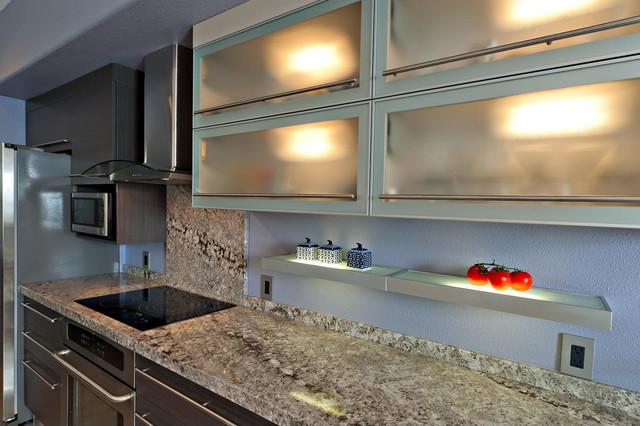 CONTEMPORARY SMALL KITCHEN DESIGN - Contemporary - Kitchen - San ...