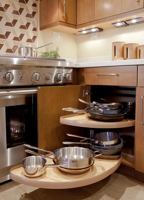 Contemporary Small Kitchen contemporaneo-cucina