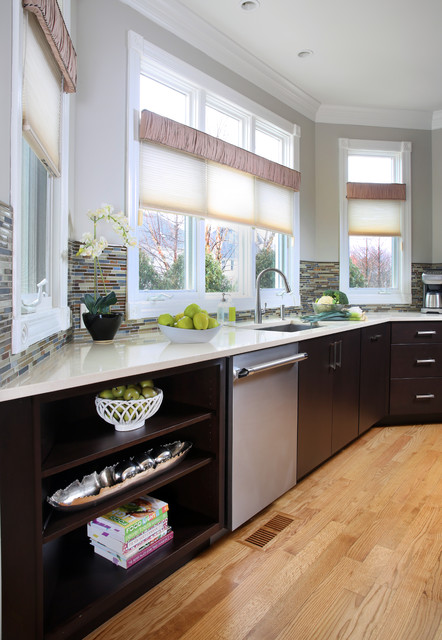 Contemporary Style With Open Layout contemporary-kitchen