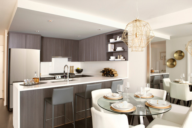 Contemporary Suite, Harmony contemporary-kitchen