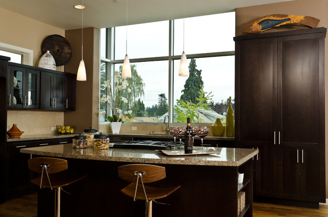 Contemporary Townhome -- Kitchen contemporary-kitchen