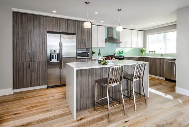 Contemporary Townhome Contemporary Kitchen Vancouver By Km Interior Designs