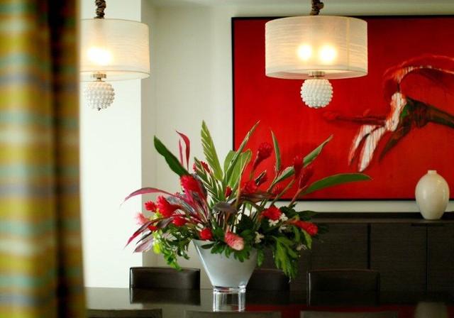 contemporary tropical house contemporary-kitchen