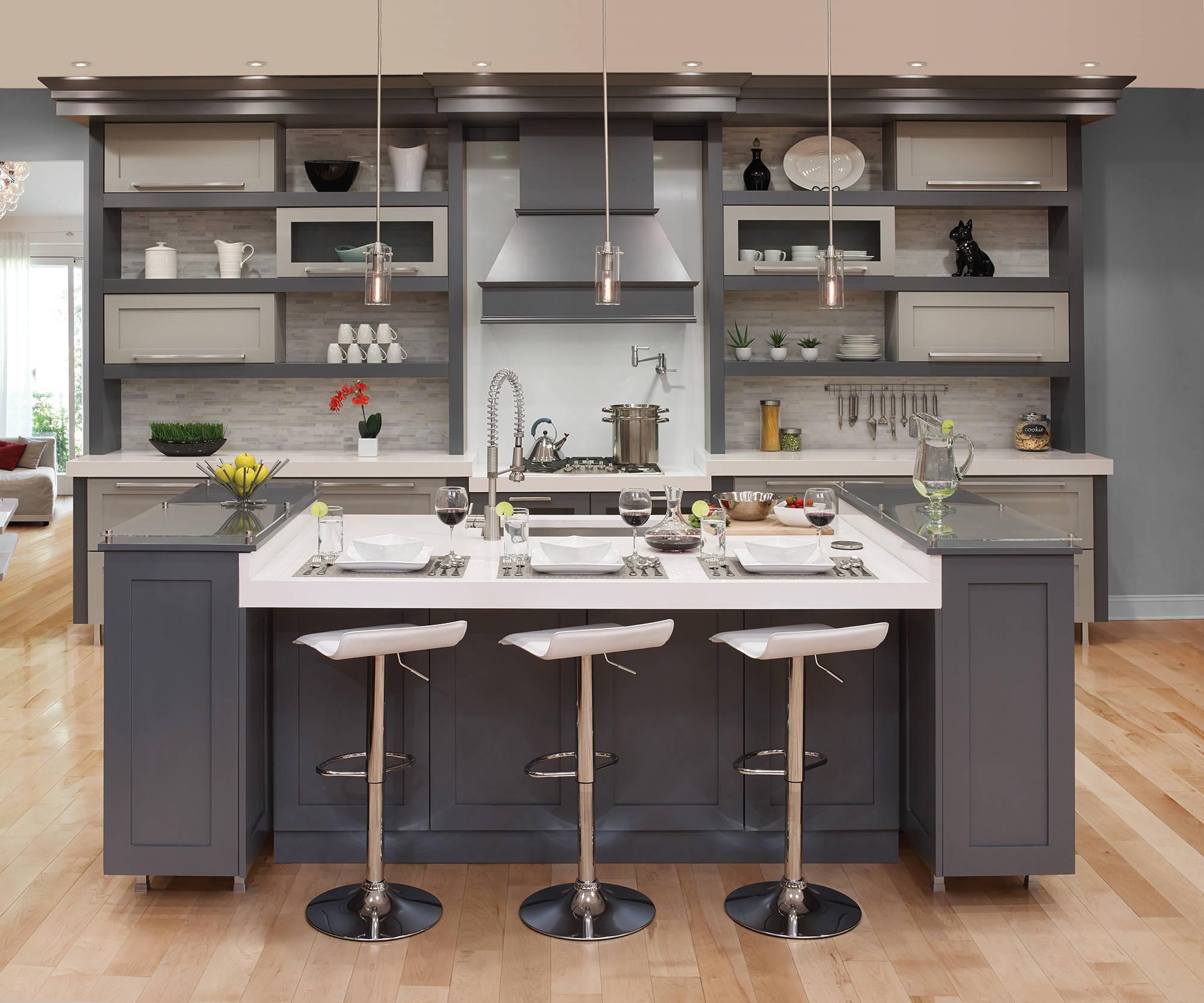 Grey And Beige Tones Kitchen Ideas Photos Houzz