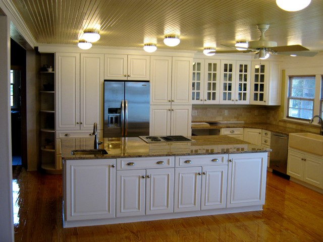Contemporary Ultracraft White Kitchen - Traditional ...