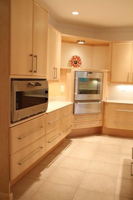 Contemporary universal kitchen design bristow virginia for Expert kitchen designs