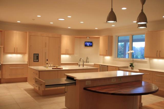 CONTEMPORARY UNIVERSAL KITCHEN DESIGN, Bristow, Virginia contemporary-kitchen