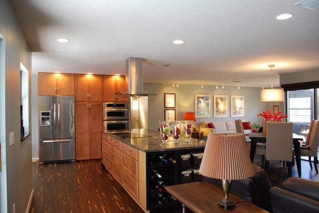 Contemporary Villa contemporary-kitchen