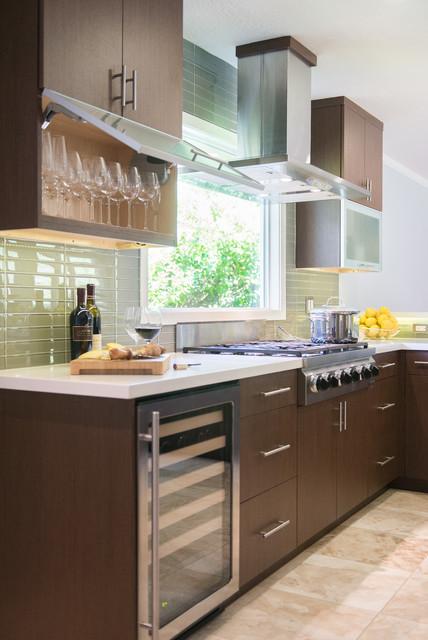 Contemporary wenge kitchen contemporary kitchen for Wenge kitchen designs