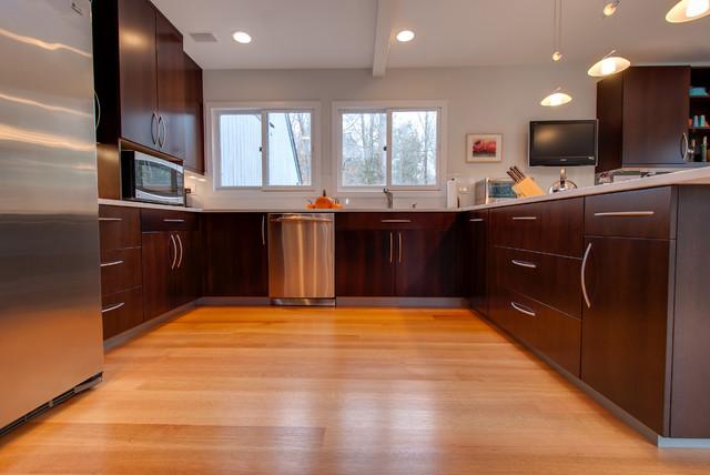 Contemporary wenge kitchen contemporary kitchen new for Wenge kitchen designs