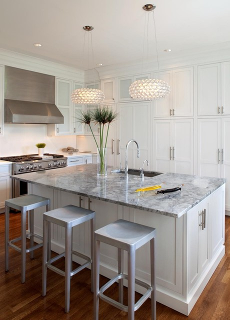 Beaded Inset Kitchen 1 contemporary-kitchen