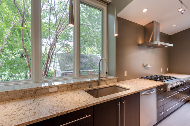 Contemporary Woodharbor Galley Kitchen Contemporary Kitchen Dc Metro By Reico Kitchen Bath