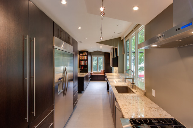 Contemporary Woodharbor Galley Kitchen Contemporary Kitchen Other Metro By Reico Kitchen