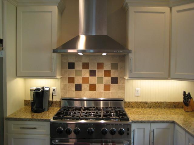 Contemporary yet warm kitchen contemporary-kitchen