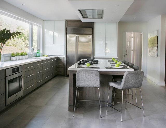 Contemporary Zen In Mamaroneck Contemporary Kitchen New York By Studio Dearborn