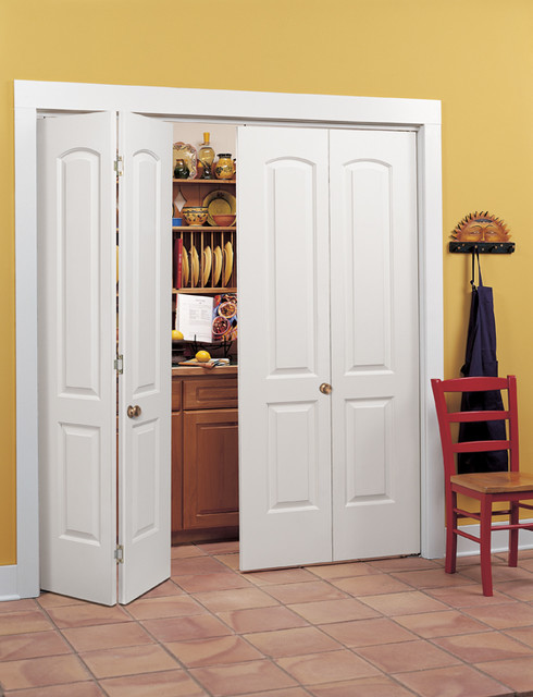 Continental Bi-Fold Closet Doors - Traditional - Kitchen - sacramento - by HomeStory of Sacramento
