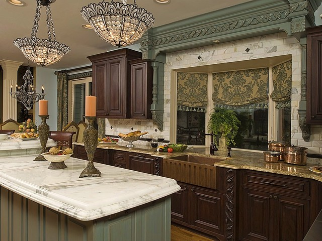 Continental Delight traditional-kitchen