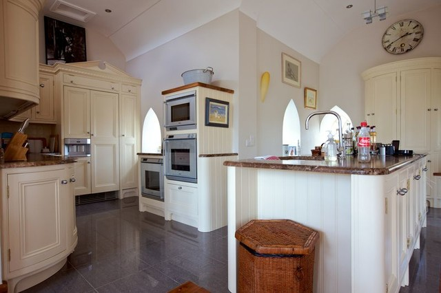Converted rectory and extension for Traditional kitchen extensions
