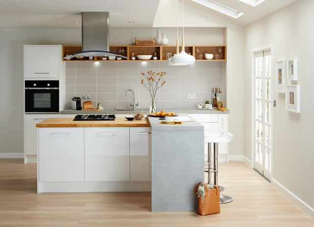 cooke and lewis kitchen cabinets cooke amp lewis rafello high gloss white contemporary 13850