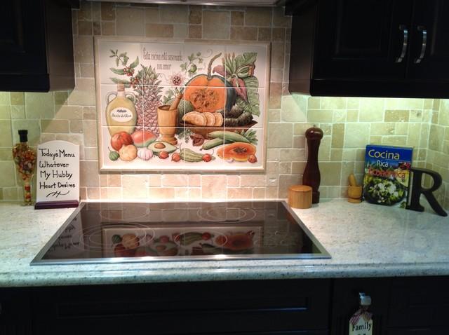 quot cookie s puerto rican cornucopia quot kitchen backsplash tile