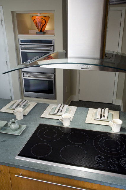 Cooktop contemporary-kitchen