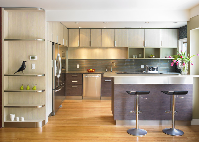 Kitchen Stories And Guides Get The Look Of Wood Cabinets For Less