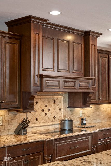 Nice Cool Toned Caraway Kitchen | Haas Cabinet Traditional Kitchen