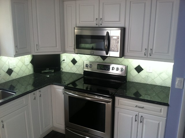 Cool White Under Cabinet LED Lighting - Traditional - Kitchen - other ...