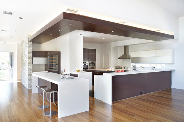 Coppell House - Modern - Kitchen - Dallas - by mohment