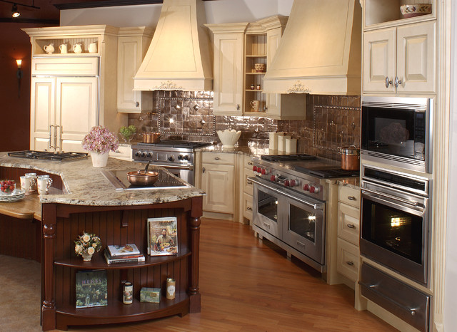 Copper & Latte Traditional Kitchen traditional-kitchen