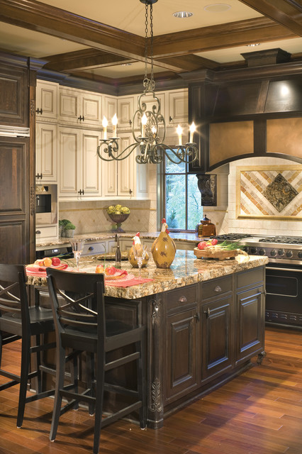 Copper Falls traditional-kitchen
