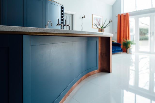 Copper Kitchen Modern Kuche Surrey Von Ben Stonard Furniture Ltd Houzz