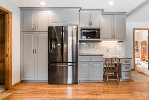 trendy kitchen remodel in north aurora, il