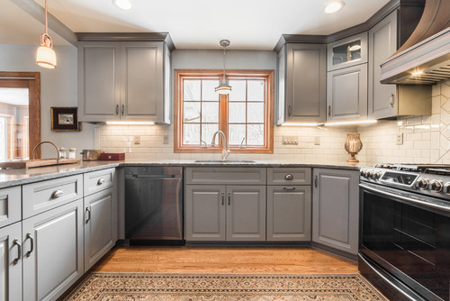 Traditional Kitchen Renovation in Fox Valley IL