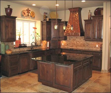 Copper Range Hood traditional-kitchen