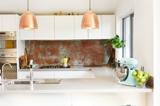 Copper Splashbacks Contemporary Kitchen Perth By Copper By