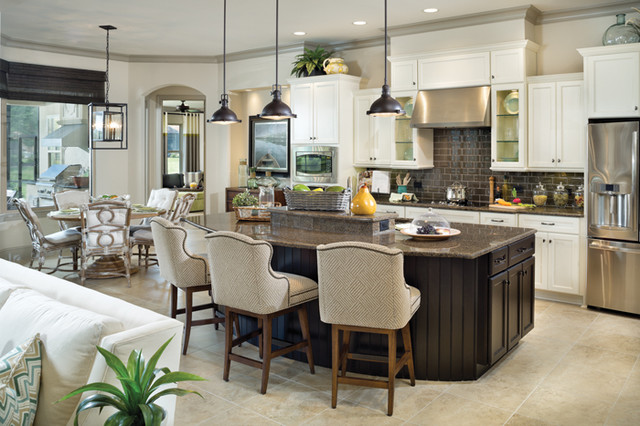 Coquina 1226 Traditional Kitchen Tampa By Arthur