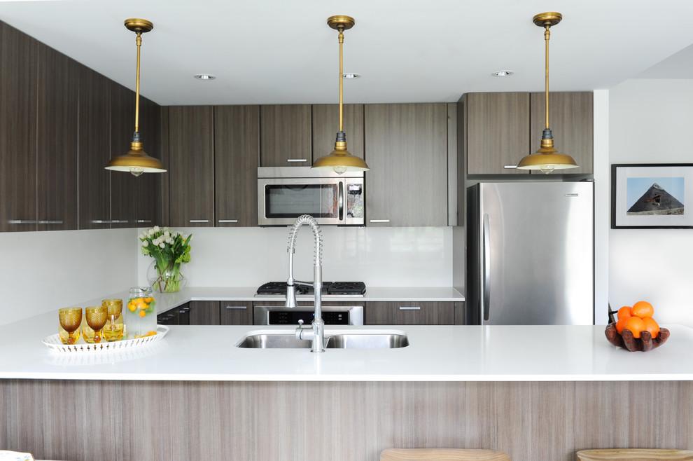 Coquitlam Townhouse Kitchen Modern Kitchen Vancouver By Plaidfox Studio