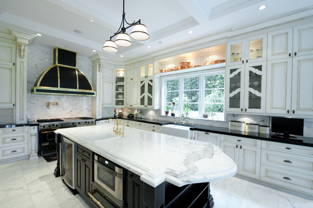 coral gable golf house contemporary-kitchen