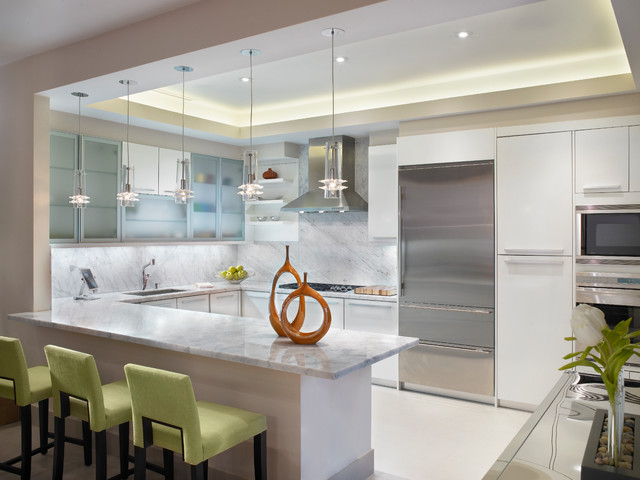 Fede Design coral gables contemporary kitchen miami by fede design llc
